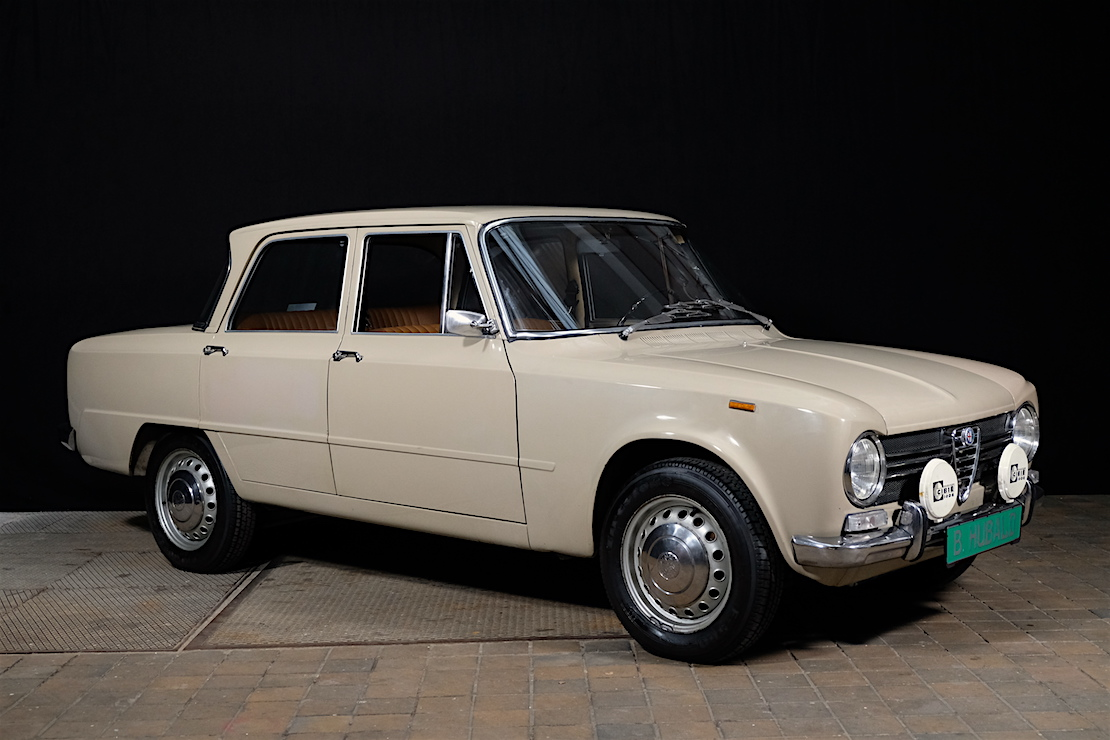 "Alfa Romeo 1300 ti Giulia ""57067 KM – original condition"" full"