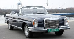 Mercedes Benz W111 280SE 3,5 factory convertible